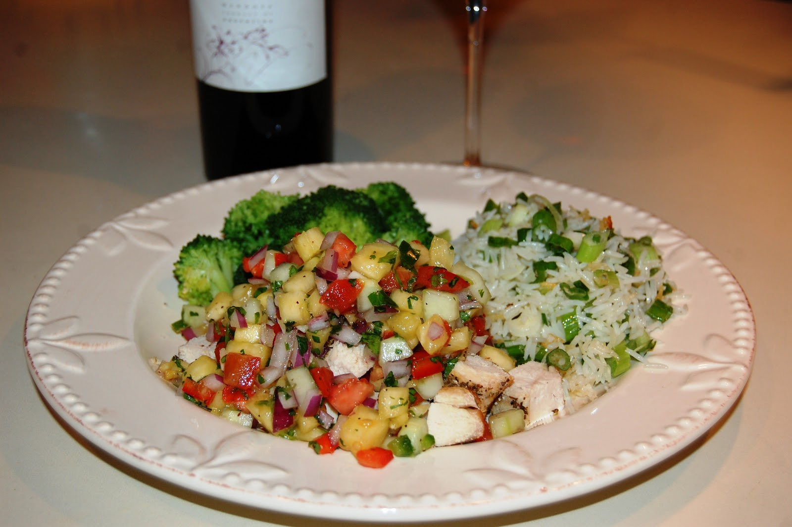 That's What Bob's Cooking: Pineapple & Cucumber Salsa