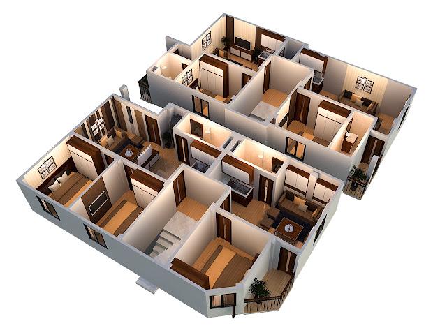 Phối cảnh tầng 2-6 tòa chung cư mini Minh Đại Lộc 3