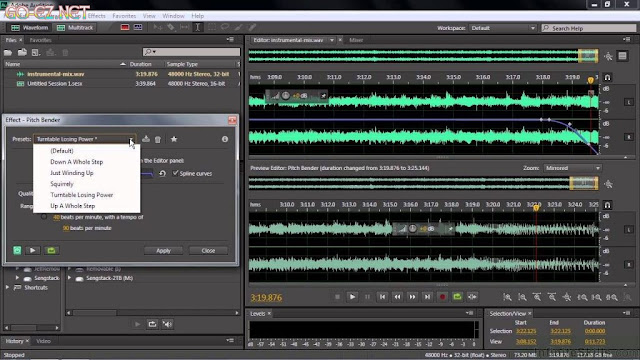Adobe Audition CC 2017 Full Crack