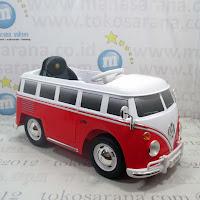 Mobil Mainan Aki Junior W487 VW Combi Lisensi