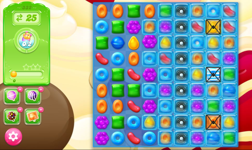 Candy Crush Jelly Saga 332