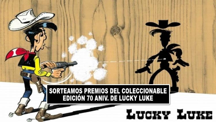 Concurso 70 aniversario Lucky Luke