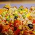 Arroz con verduras al estilo chino