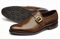 мужские туфли с пряжкой
