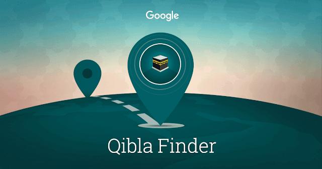 تحديد اتجاه القبلة عن طريقة موقع جديد من جوجل  Qibla Finder