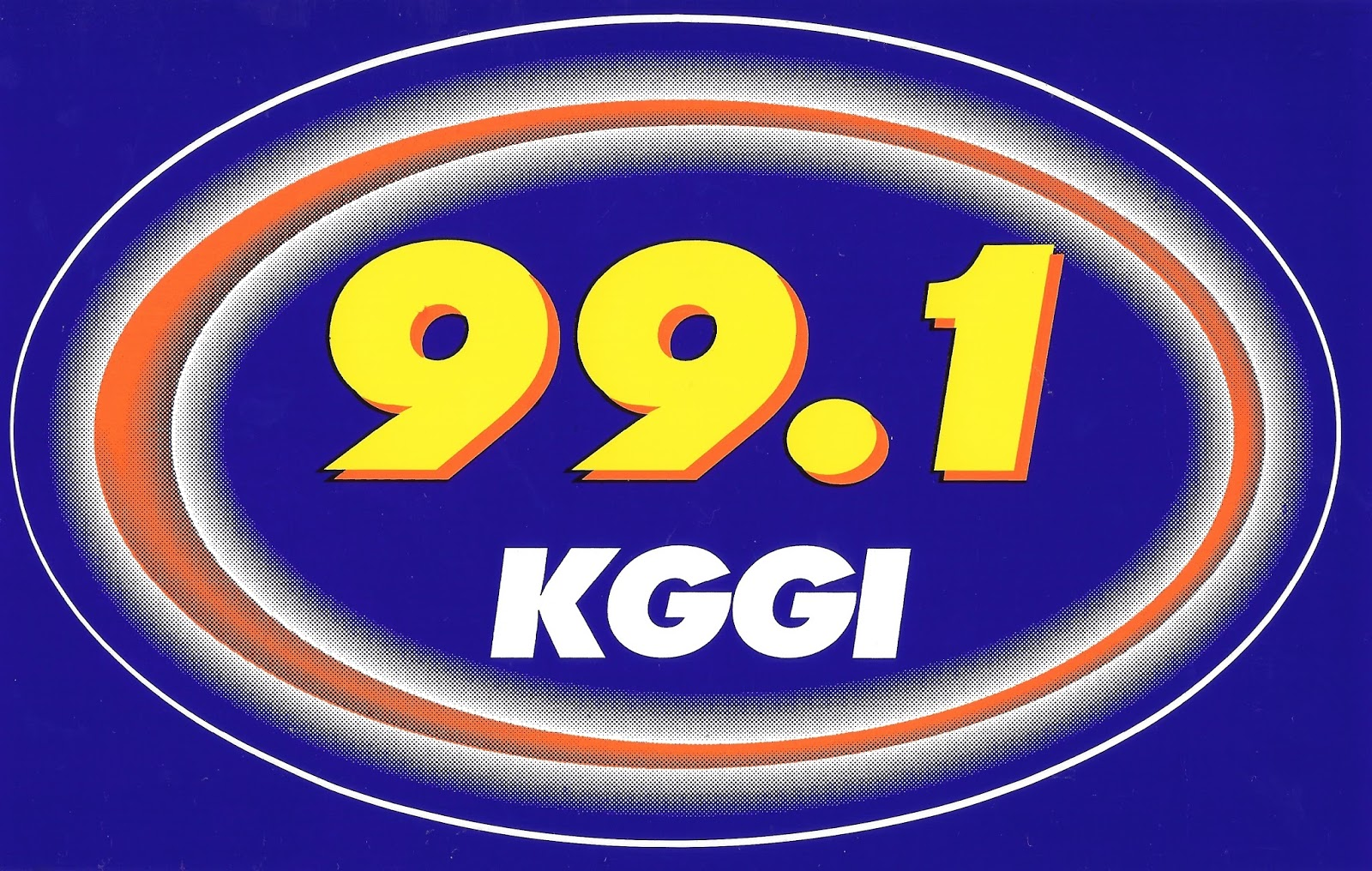 KGGI Has Been A CHR Rhythmic Top 40 Station In Riverside California Since Around 1980 The Call Letters Are Derived From Their Frequency Two Lowercase Gs