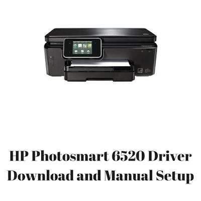 HP Photosmart 6520 Driver Download and Manual Setup