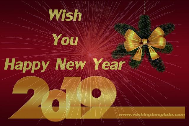 Wish You Happy New Year 2019, Happy New Year 2019