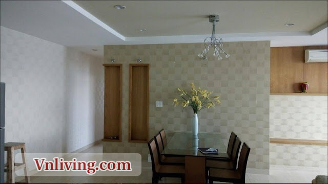 Dinner room Horizon apartment for rent 2 bedrooms 120 sqm