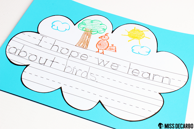 Hopes & Dreams writing activity: A BIG Collection of Fun and Engaging Activities, Lessons, and Ideas for the first week of school! - by Miss DeCarbo