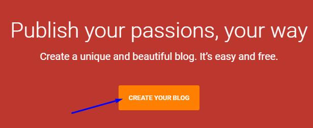 blogger per free blog { website } kaise banaye