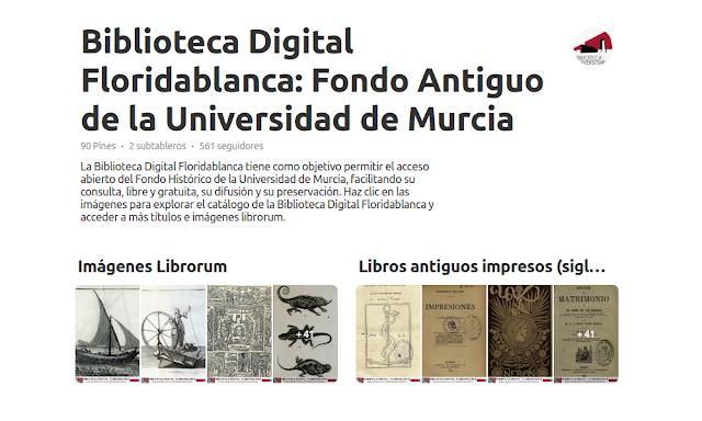La Biblioteca Digital Floridablanca está en Pinterest