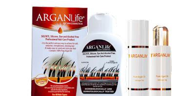 Arganlife Hair and Skin Care Products
