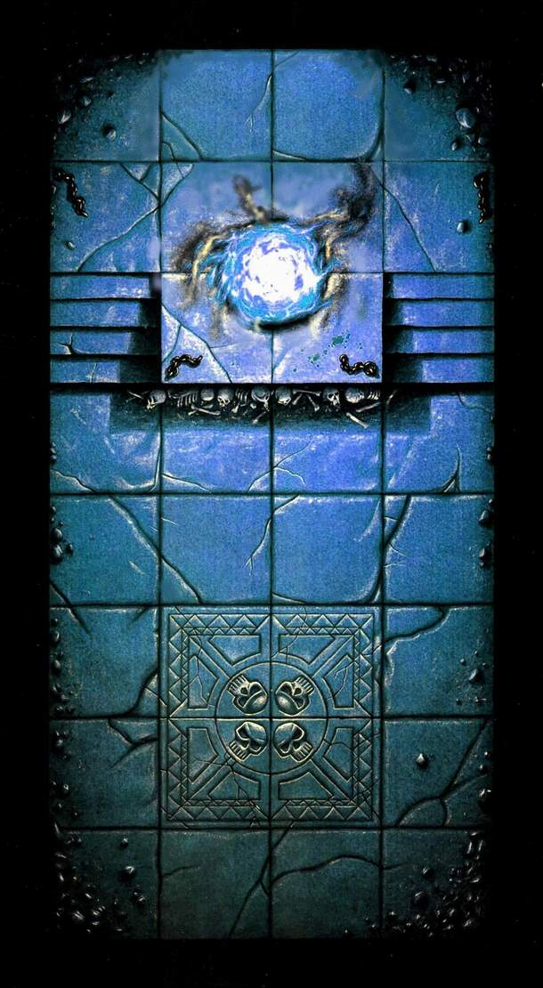 Free dungeon tiles to print Plateau modulable sous licence  Warhammer Quest