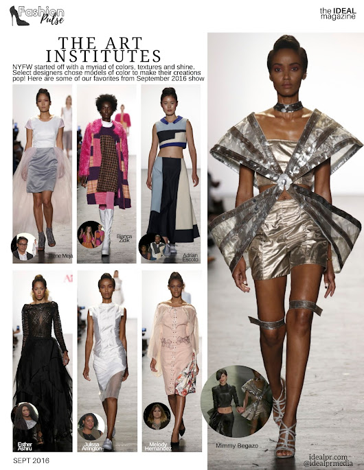 IDEAL PR MEDIA : #NYFW The Art Institutes Runway Fashions