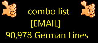 combo list [EMAIL] 90,978 German Lines