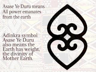 Mother earth Adinkra symbol