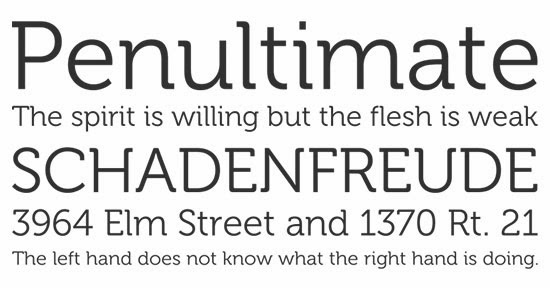 20 Sans-serif type fonts for your next project