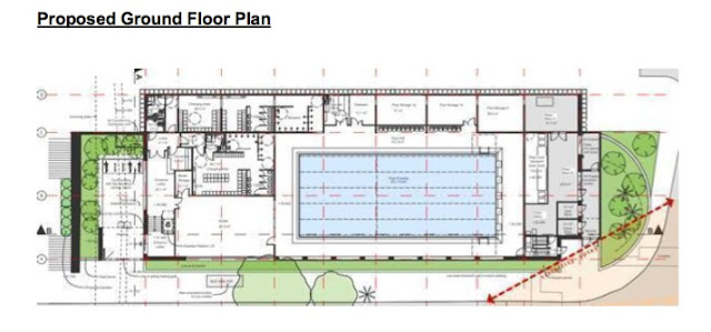 Wembley Matters Officers Recommend Approval For Wembley French School Swimming Pool
