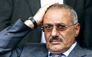 علي عبدالله صالح بحاله مرضيه حرجه للغايه