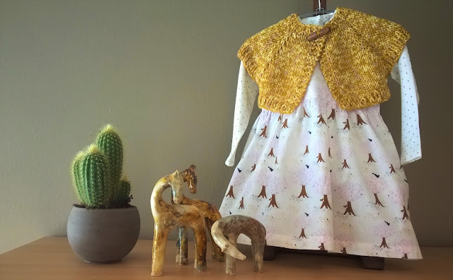 babyjurkje en babu shrug cardigan (gratis patronen)
