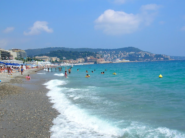 Praia Neptune Plage em Nice