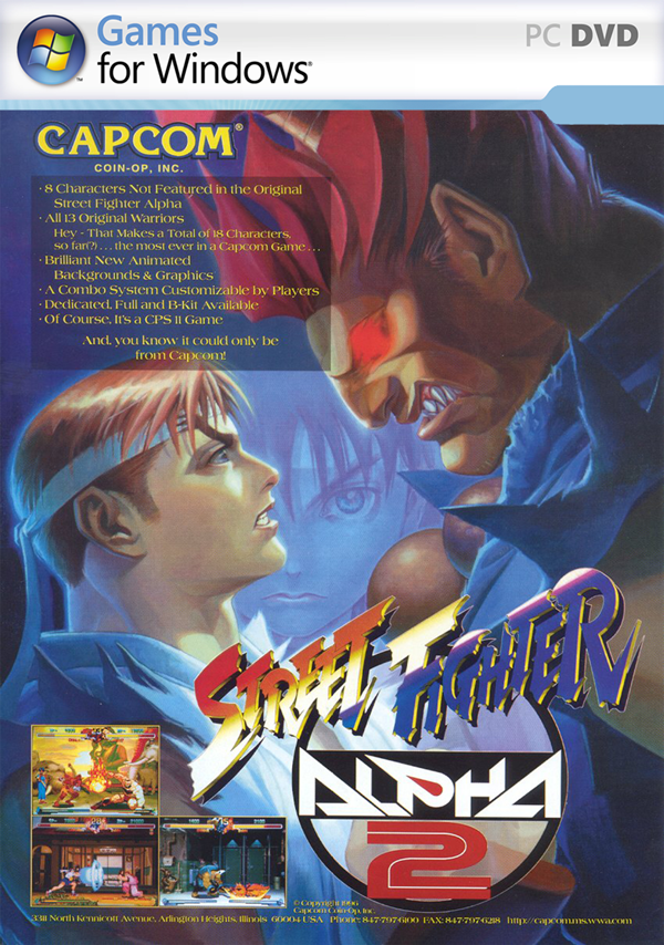 Descargar Gratis Street Fighter Alpha 2 GOG Edition Mega MG Shared