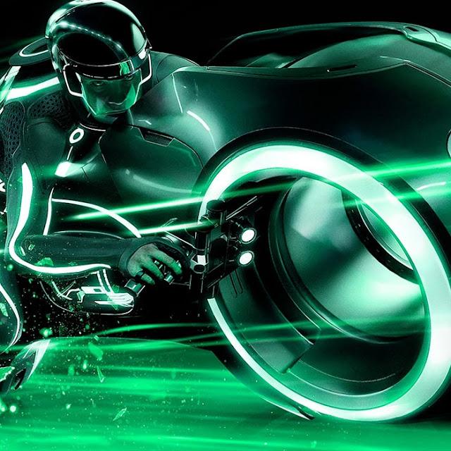 Tron (Green) Wallpaper Engine