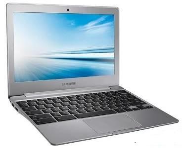 Samsung Chromebook 2 com 16 GB de HD, o modelo em tela de 11,6 polegadas antirreflexiva, processador Intel Celeron (2.16 até 2.58 GHz) e 2 GB de RAM