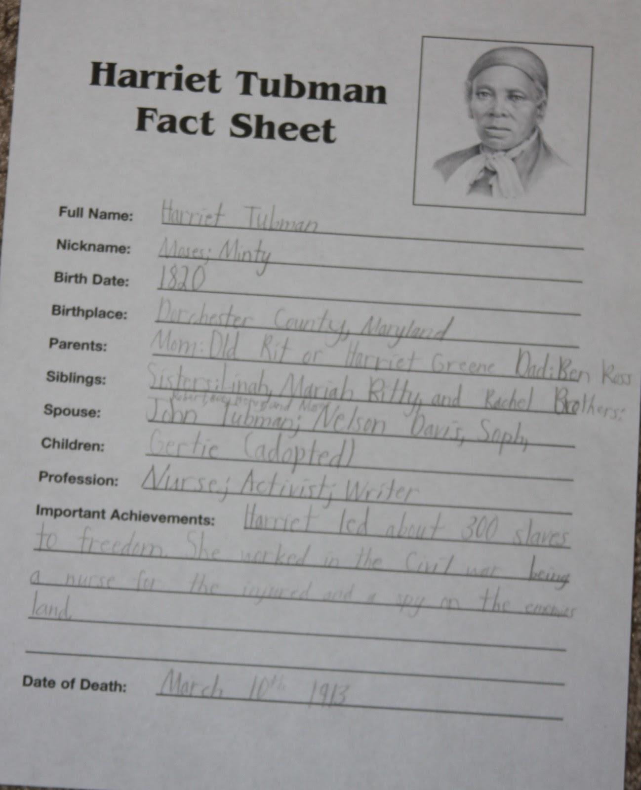medium resolution of Harriet Tubman Worksheet First Grade   Printable Worksheets and Activities  for Teachers
