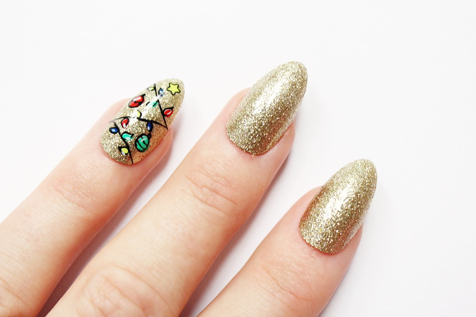 Elegant Touch x House of Holland Christmas Nails