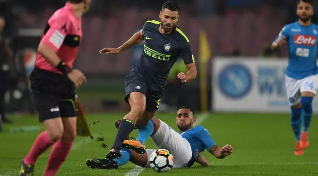 Inter Milan and Napoli Share Numbers at San Paolo