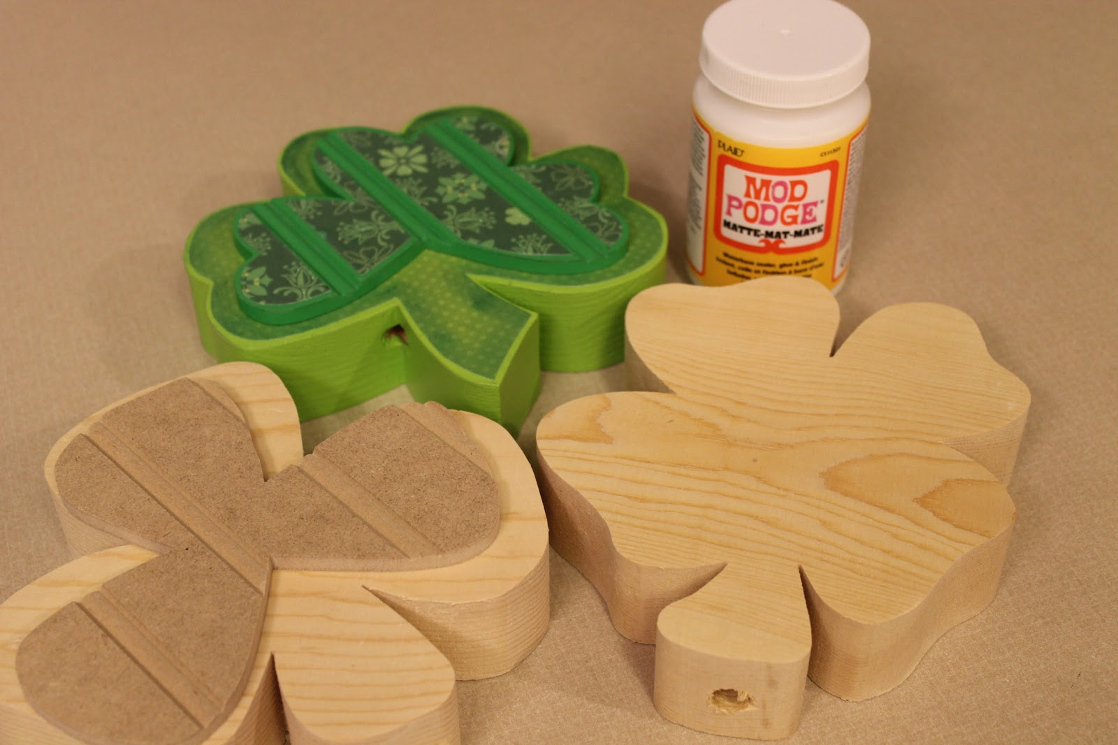 St Patricks Day Craft Tutorial From Wood Creations