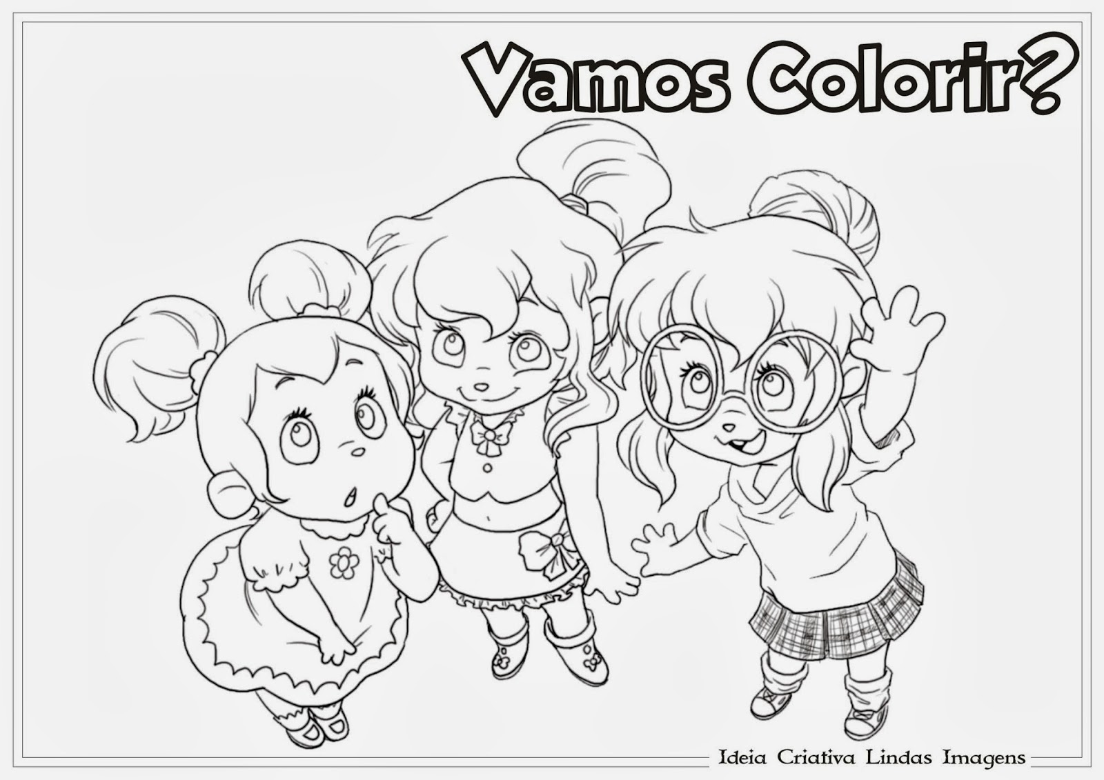 Chipettes Brittany Coloring Pages Twoj Doktor