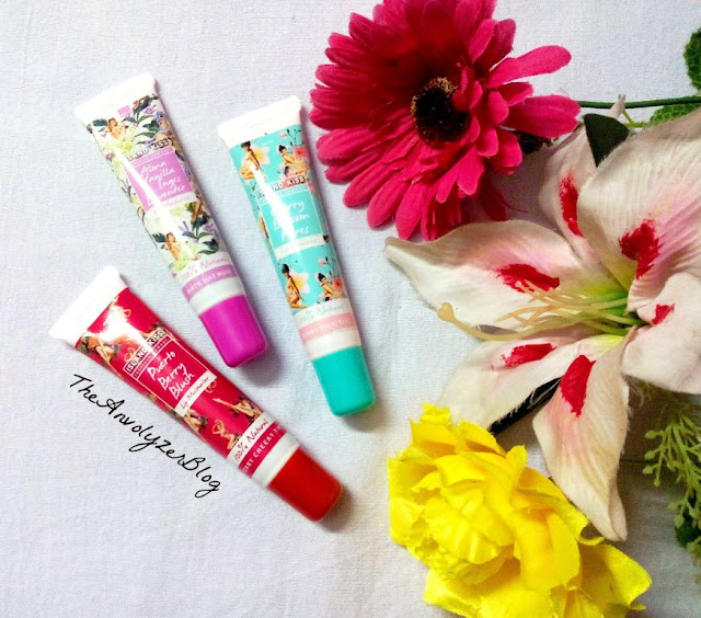 Review :Tropical Lip Moisturisers by Island Kiss