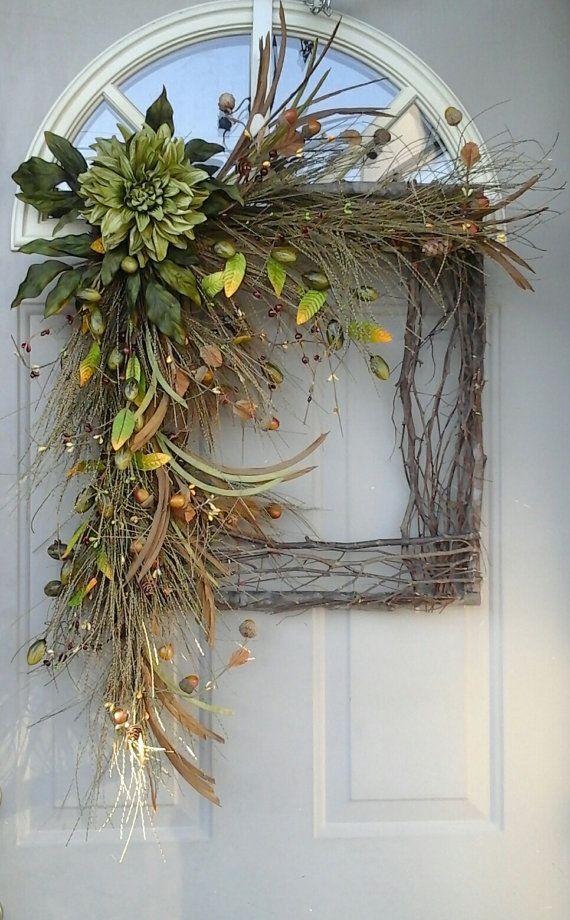 Fun Fall Door Decor on Vine Decor Ideas  id=45176
