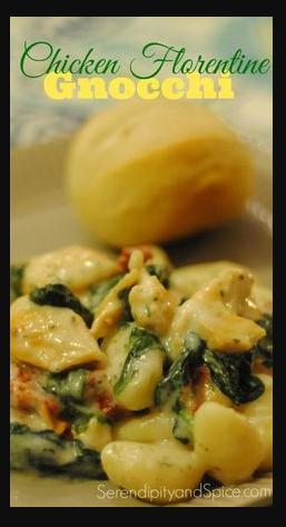 Chicken Florentine Gnocchi