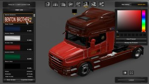 Benton Brothers Skin Scania T