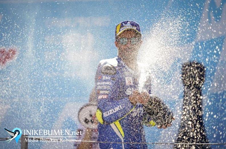 Iannone Podium di Aragaon MotoGP