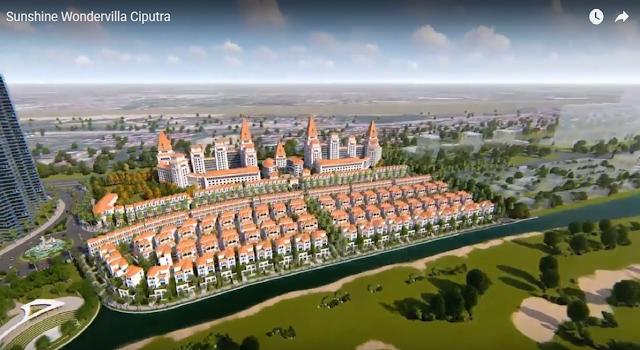Sunshine Wonder Villas biệt thự liền kề shophouse Ciputra - Tổng quan dự án