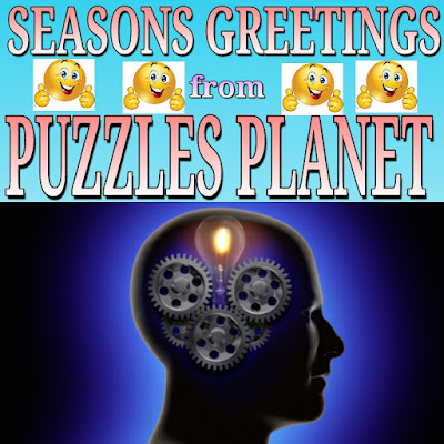 New year free brain training from puzzles planet