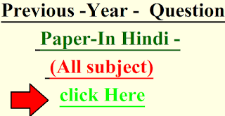previous question paper in hindi