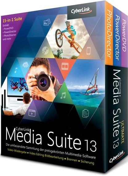 La meilleure suite multimédia, CyberLink Media Suite 9, offre les dernières fonctionnalités multimédia numériques, dont le Blu-ray, la création et lecture de vidéos 3D, et la conversion ultra rapide de fichier.