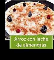 ARROZ CON LECHE DE ALMENDRAS