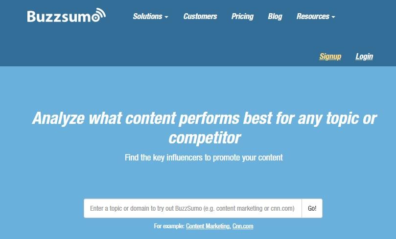 BuzzSumo Blog Topic Content Title Generator