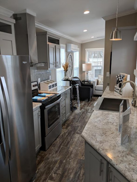 Tiny House Town A 520 Park Model Home 399 Sq Ft