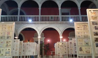 Exfilna 2018, Fundación Cajasol de Sevilla, Filatelia