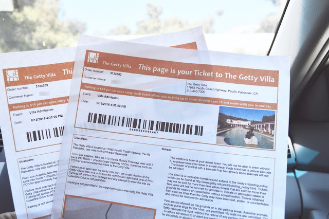 getty villa tickets admission
