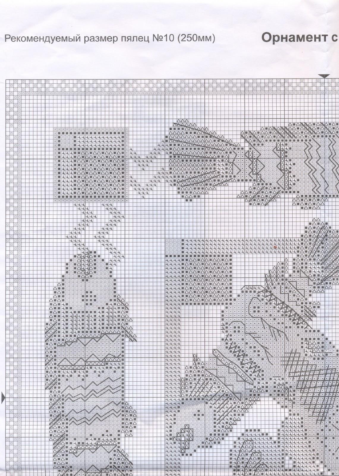 схема вышивки panna