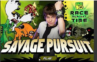 Chơi game Ben và nhiệm vụ Savage Pursuit
